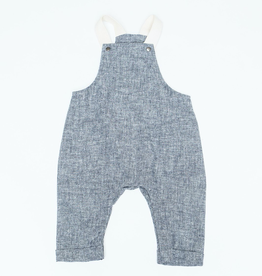 The Overalls in Navy Chambray