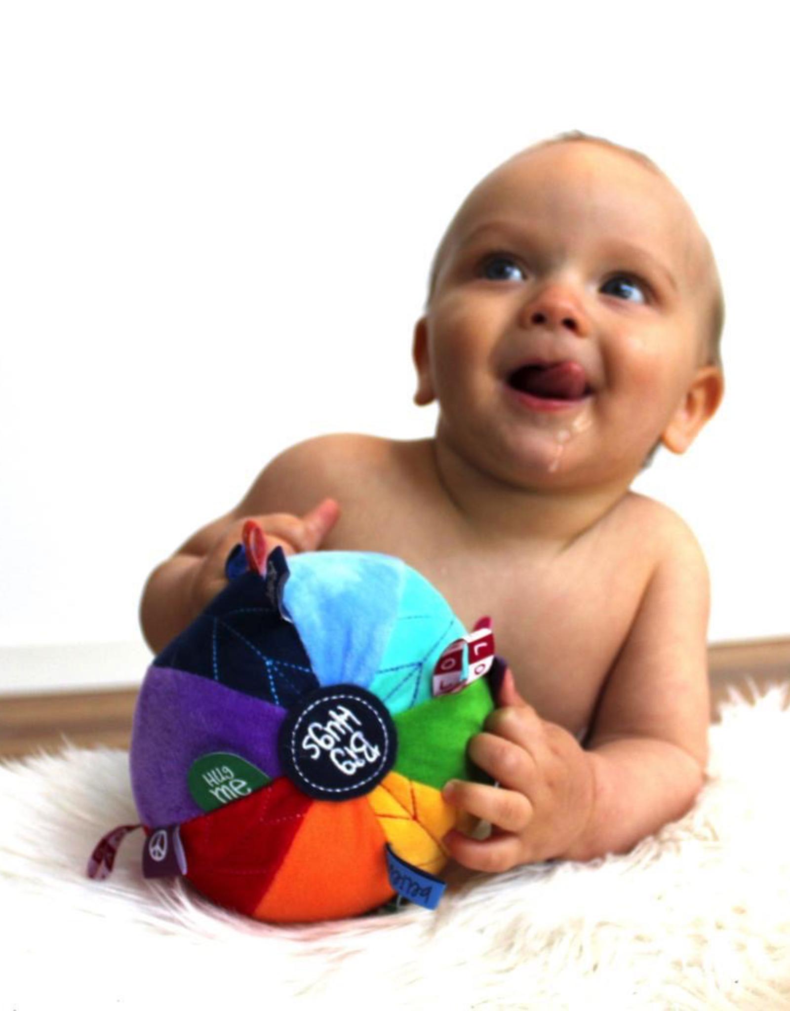 OB Designs Rainbow Sensory Ball for Baby