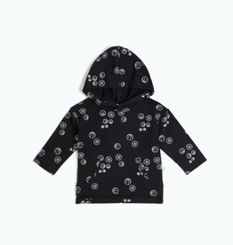 Black Basketball Hoodie for Baby