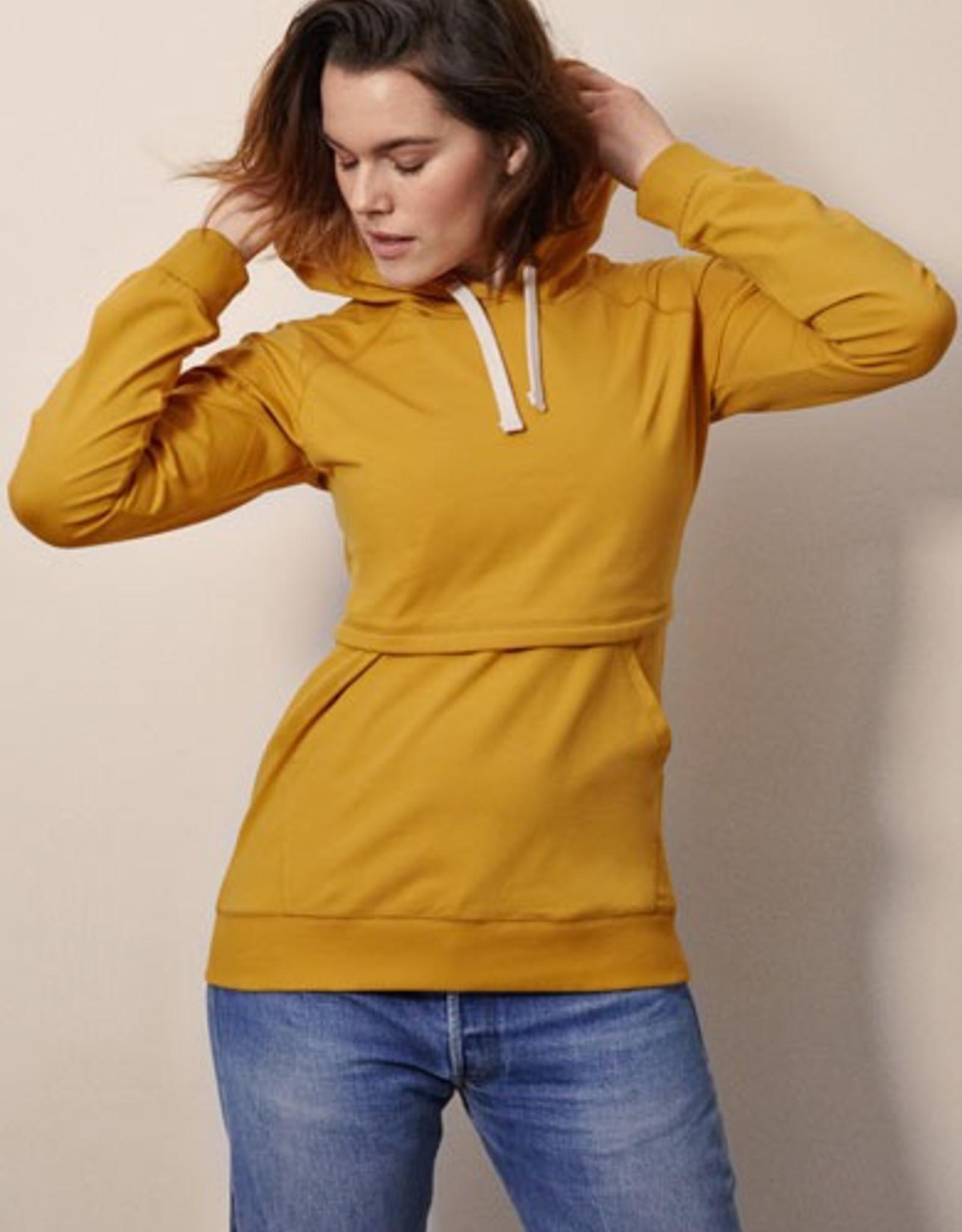 Boob Design B-Warmer Nursing Hoodie in Amber