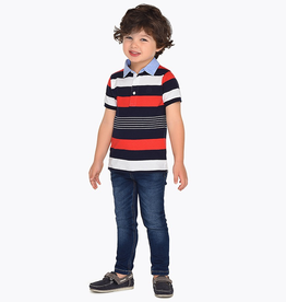 Mayoral Slim Fit Jeans with Pockets for Boy