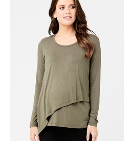 Ripe Maternity Lara Long Sleeve Nursing Tee