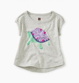 Tea Collection Turtle Baby Graphic Tee for Baby Girl