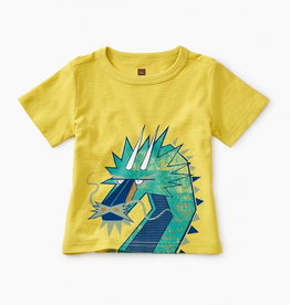 Tea Collection Tiptop Dragon Baby Graphic Tee for Baby Boy