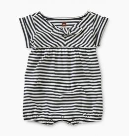 Tea Collection Striped Tie Romper for Baby Girl