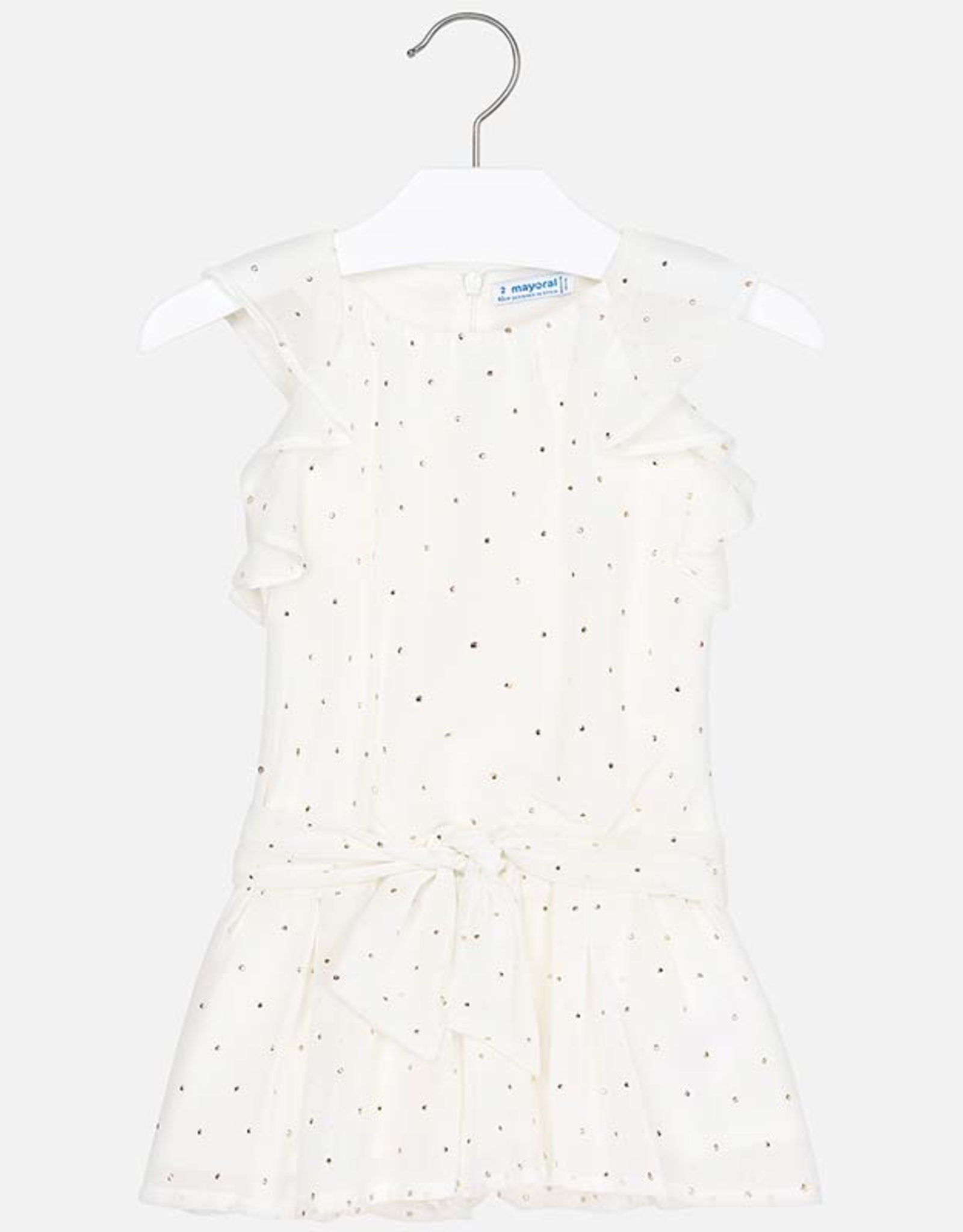 Mayoral Chiffon Play Suit with Studs for Girl