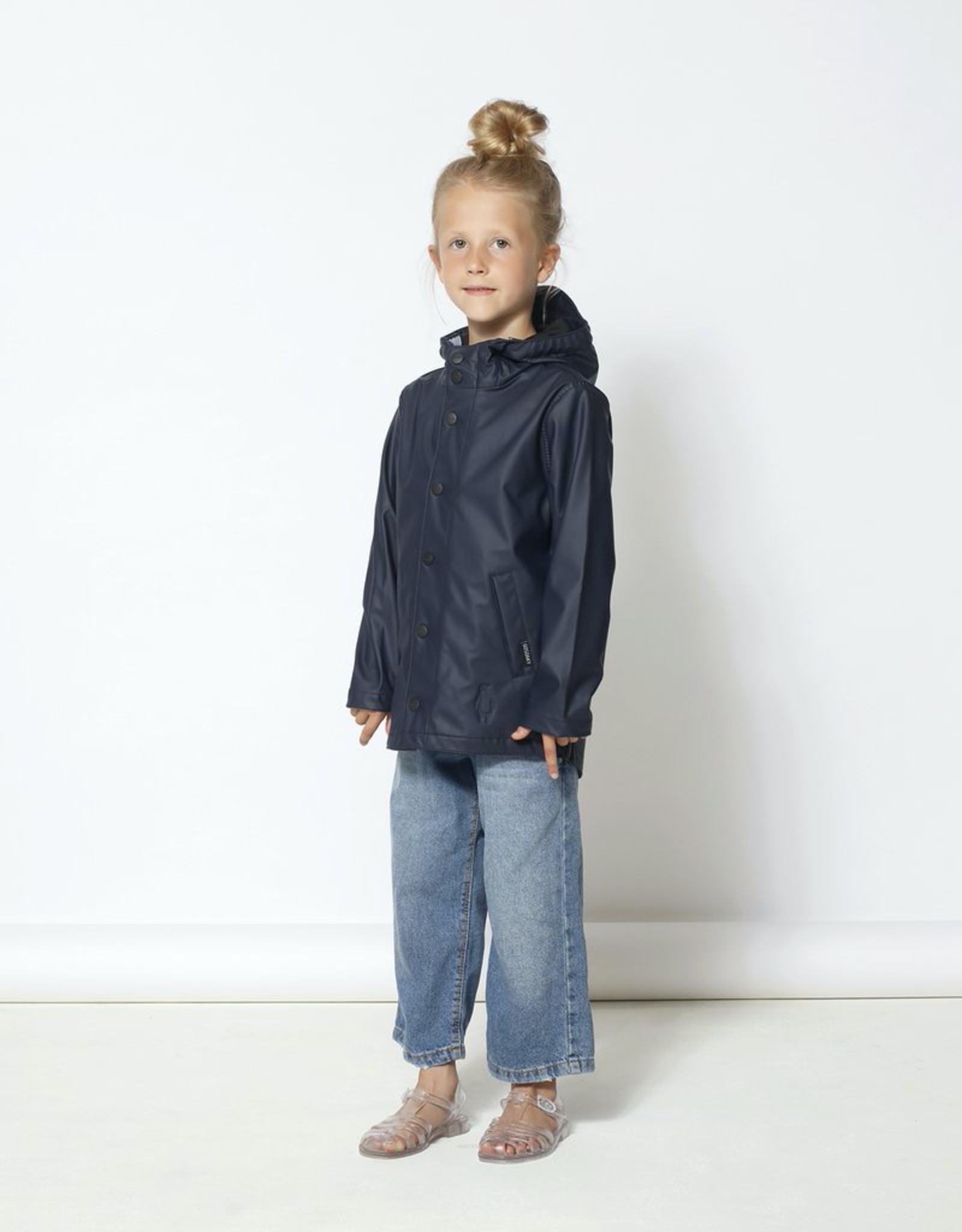 Go Soaky Elephant Man Raincoat in Indigo