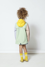 Go Soaky Elephant Man Raincoat in Pastel Green Multi