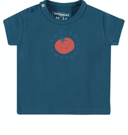Imps & Elfs Germiston Short Sleeve T-Shirt for Baby in Majolica Blue