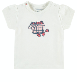 Imps & Elfs Barkly West Short Sleeve T-Shirt for Baby in Marshmallow