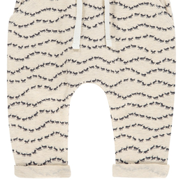Imps & Elfs Peddie Pants for Baby in Light Grey Melange