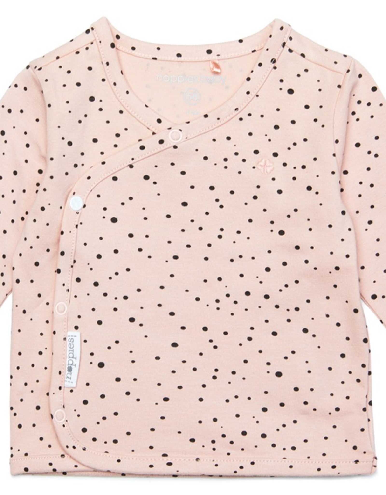 Noppies Kids Long Sleeve Lyoni Top for Baby in Peach Skin