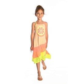 Appaman Carissa Dress in Speckled Citrus