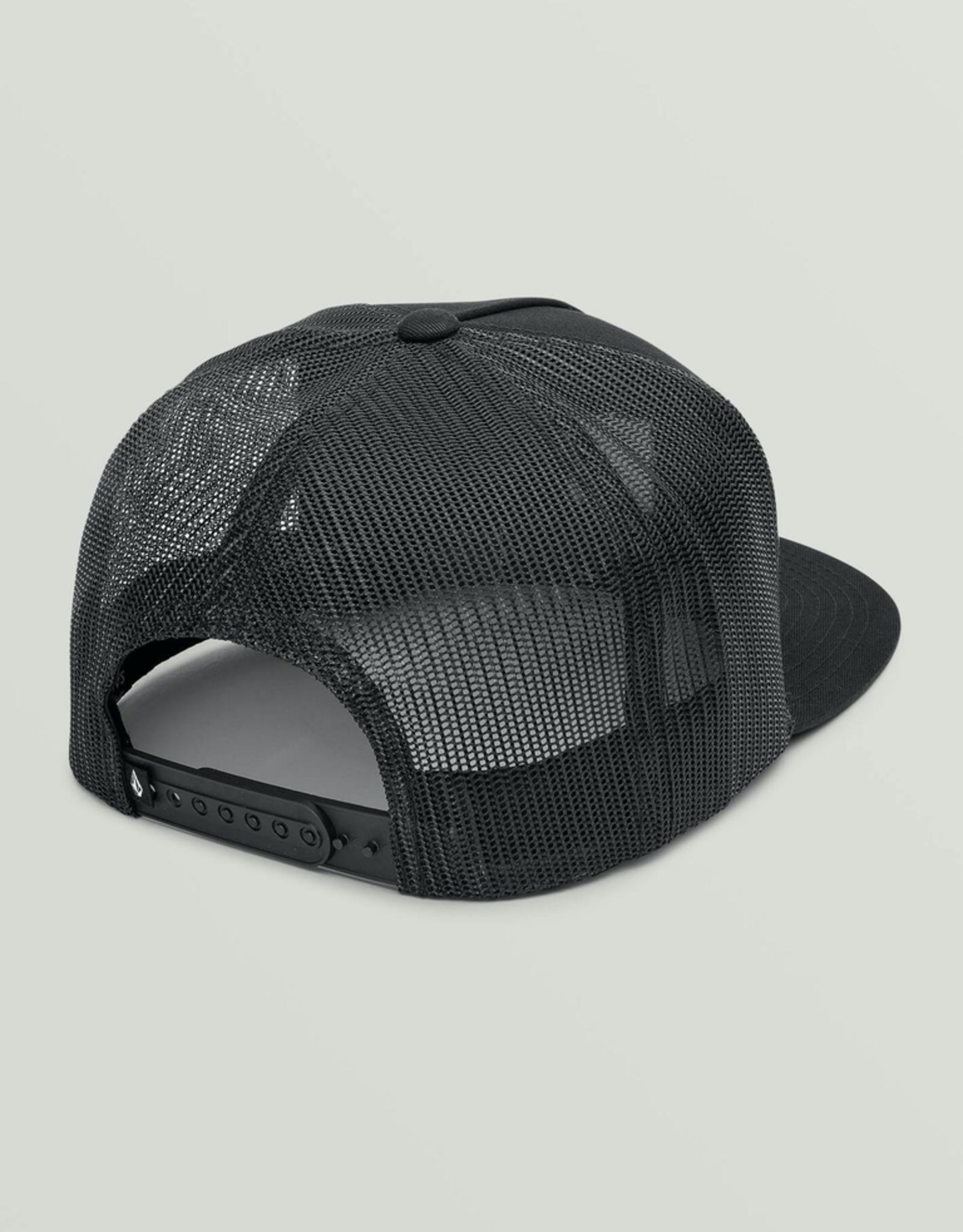 Box Stone Cheese Hat - Black