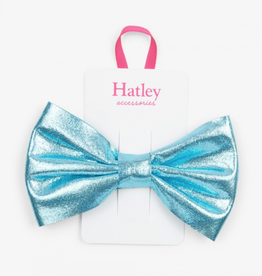 Hatley Blue Glimmer Hair Bow