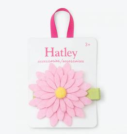 Hatley Pink Daisy Large Hair Clip