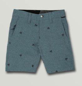 Boys Frickin Surf N' Turf Shorts - Stormy Blue