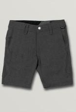 Boys Frickin Surf N' Turf Static Shorts - Charcoal Heather