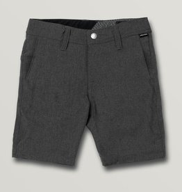 Boys Frickin Surf N' Turf Static Shorts - Charcoal Heather