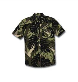 Boys Mentawais Short Sleeve Shirt - Military