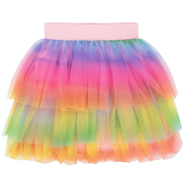 Deux Par Deux Rainbow Tutu Skirt for Girl