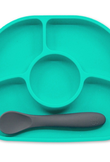 Bblüv Yümi – Silicone plate & spoon set