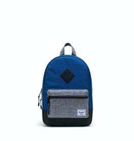 Herschel Supply Co. Heritage Kids Backpack, Orient Blue/Light Grey,  9L