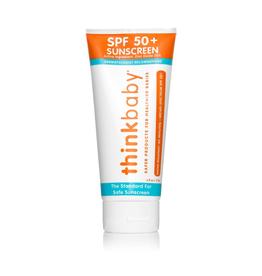 Thinkbaby Safe Sunscreen SPF 50+ (6oz) - Family Size