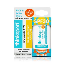 Thinksport Kids Sunscreen Stick SPF 30+ (.64oz/18.4g)