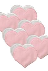 Bamboobies Regular Nursing Pads - 6 Pairs, Pale Pink
