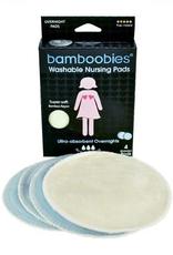 Bamboobies Round Overnight Nursing Pads - 2 Pairs
