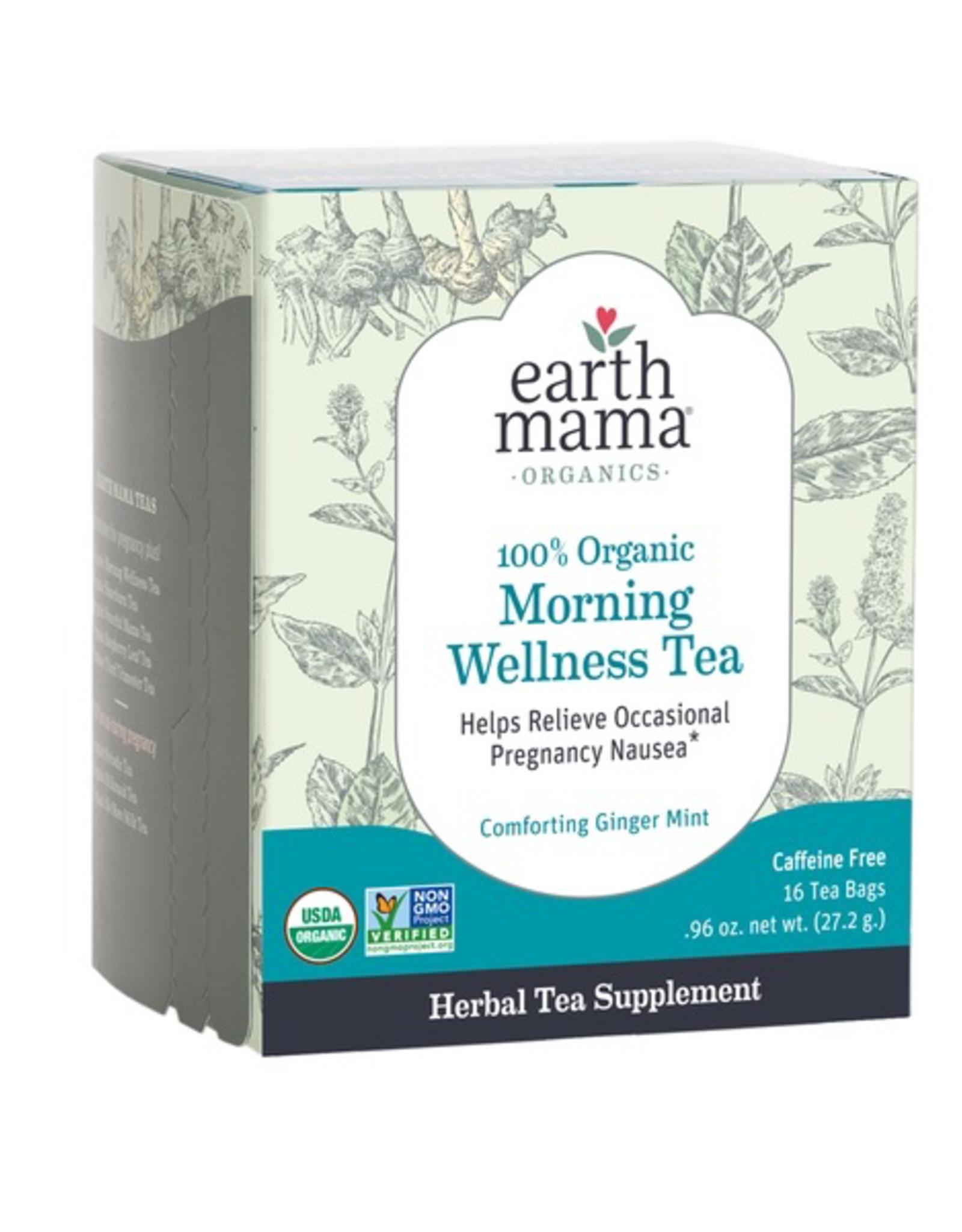 Earth Mama 100% Organic Morning Wellness Tea