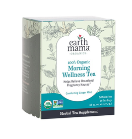 Earth Mama 100% Organic Morning Wellness Tea
