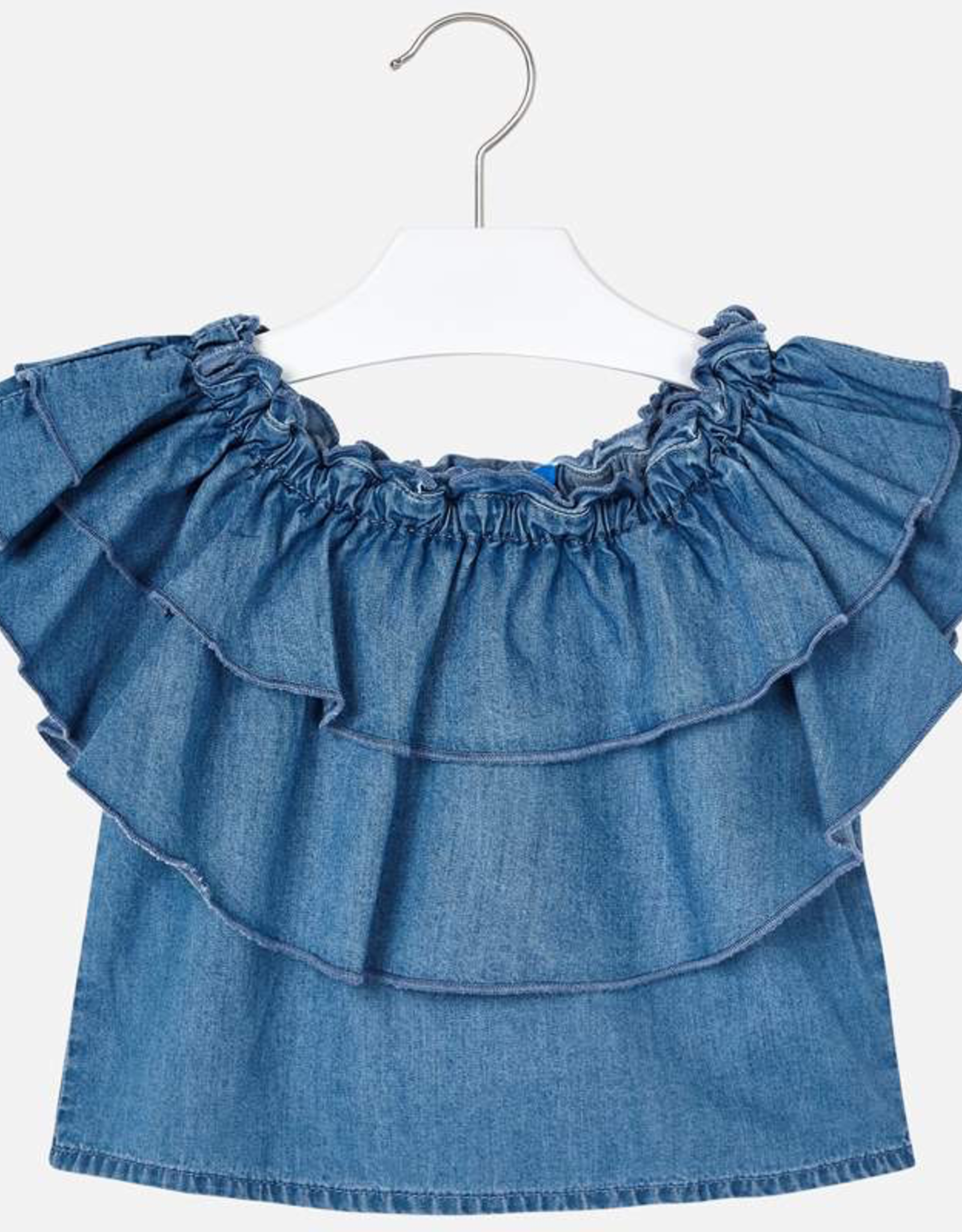 Mayoral Round Neck Collar Blouse for Girl