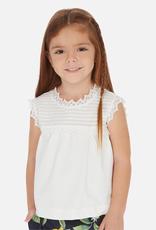 Mayoral Short raglan sleeve T-shirt for Girl