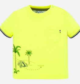 Mayoral Neon Lemonade Dune Buggy T-Shirt for Baby Boy