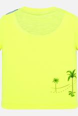 Mayoral Dune Buggy T-Shirt for Boy in Neon Lemonade
