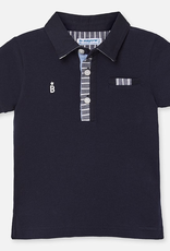 Mayoral Navy Blue Polo Shirt for Baby Boy