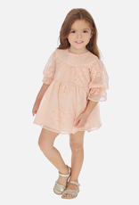 Mayoral Short sleeved Dress for baby Girl