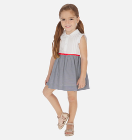 Mayoral Stripes Dress for Girl