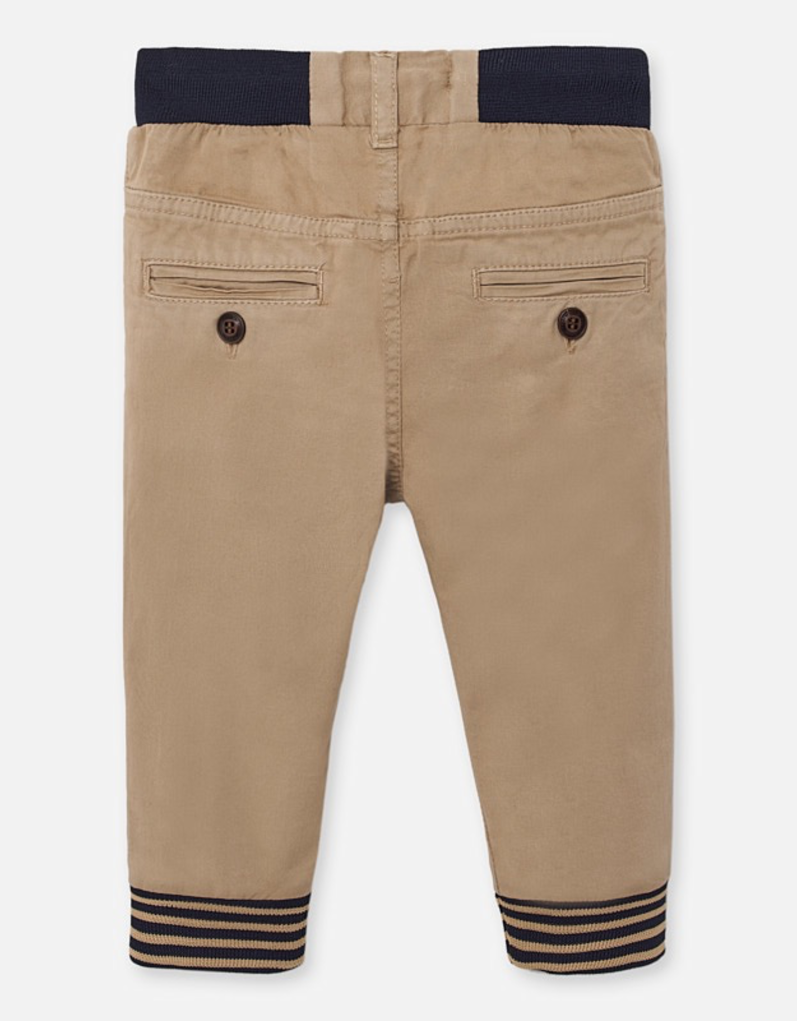 Mayoral Tan Joggers for Baby Boy