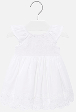 Mayoral Dress with lace for Baby Girl
