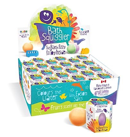 Loot Toys Bath Squigglers, Bath Bomb Scented Fizzy with Hidden toy