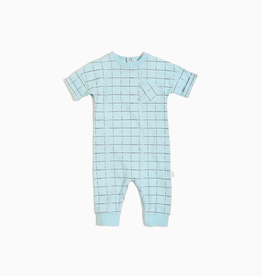 Light Blue Tennis Net Playsuit