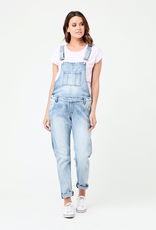 Ripe Maternity Pale Blue Denim Short Overalls