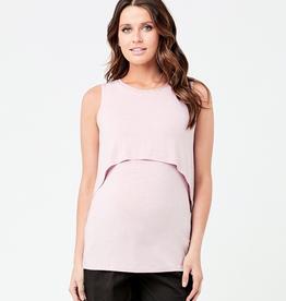 Ripe Maternity Dusty Pink Summer Swing Back Nursing Tank