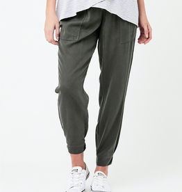 Ripe Maternity Olive Tencel Off Duty Pant
