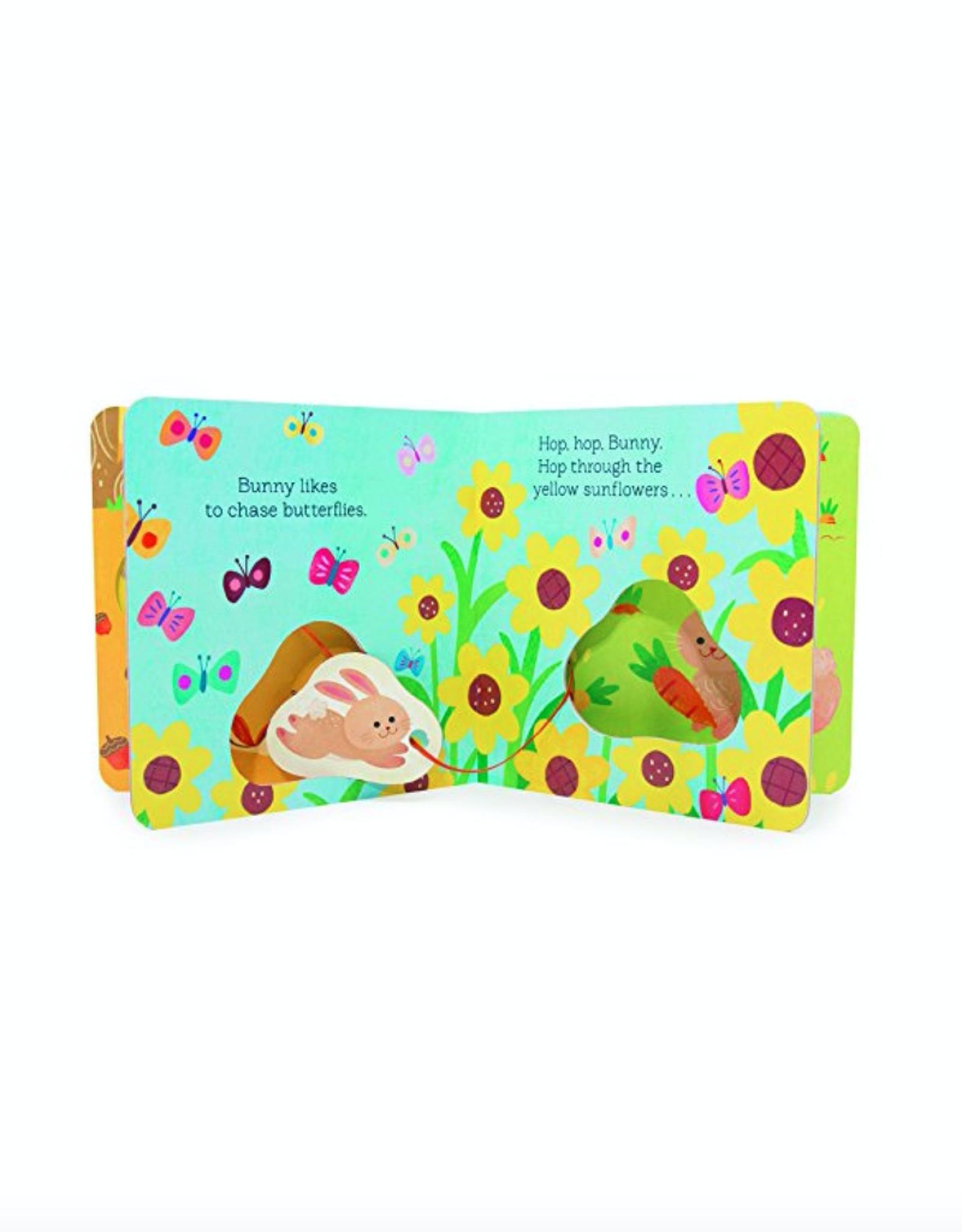 Hop, Hop Bunny: A Follow-Along Board book