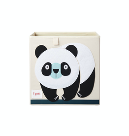 3 Sprouts Panda Storage Box
