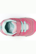 Striderite Adrian Girl's Soft Motion Sneaker in Light Pink